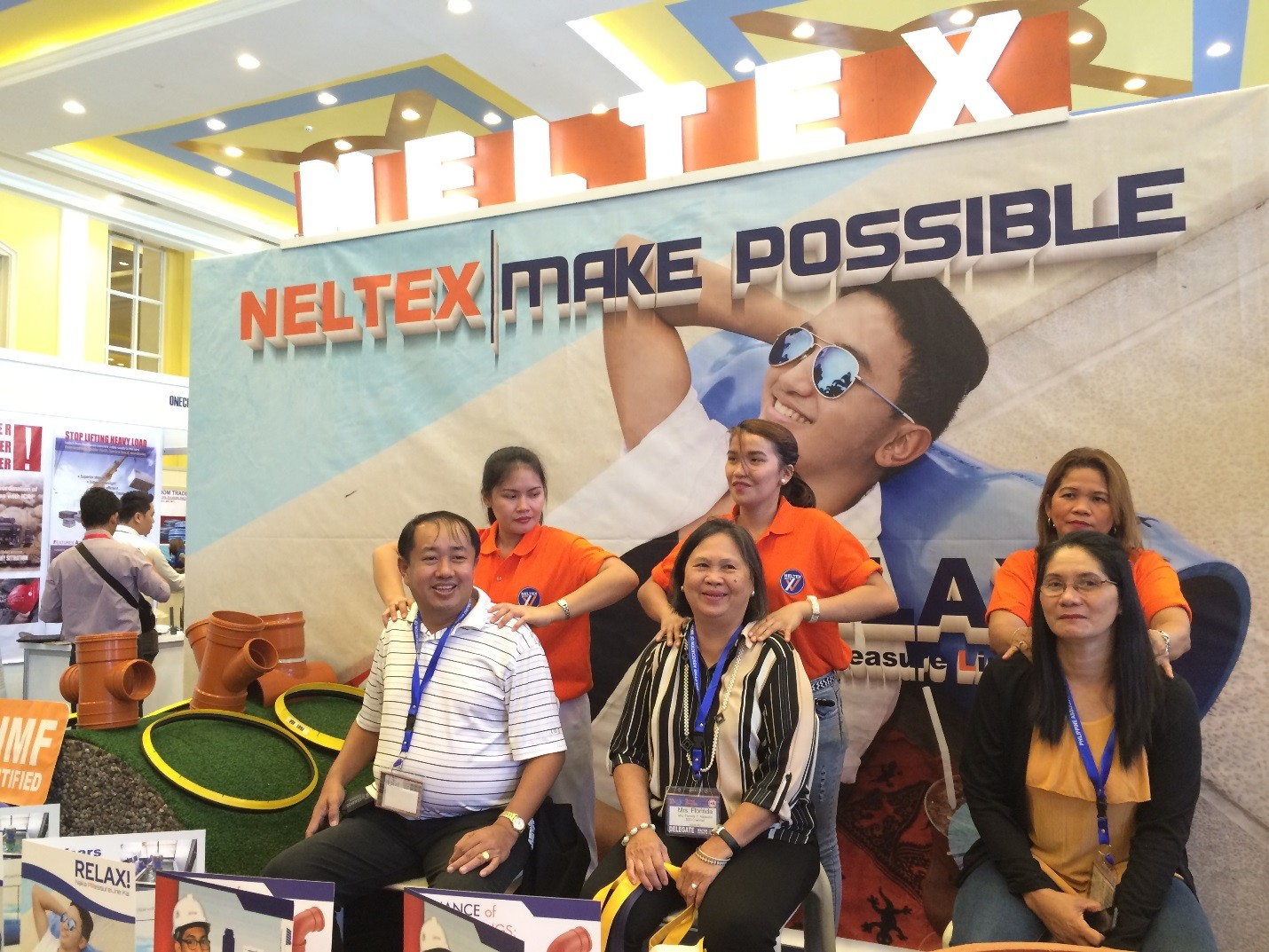 Neltex brings its 'RELAX' vibe at the 37th PAWD National Convention 2016