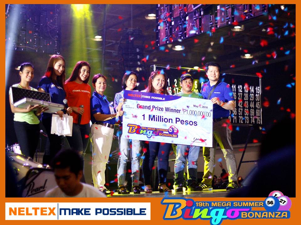 NELTEX Celebrates National Hardware Day with over 2.4 Million Peso worth of Bingo and Raffle Prizes