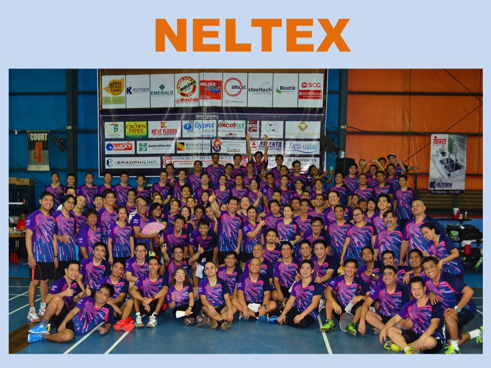 NELTEX SUPPORTS INDUSTRY FRIENDS IN BACK-TO-BACK BADMINTON TOURNAMENT